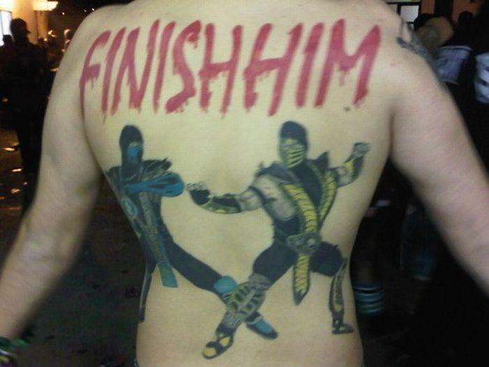 The World S Biggest Mortal Kombat Fan