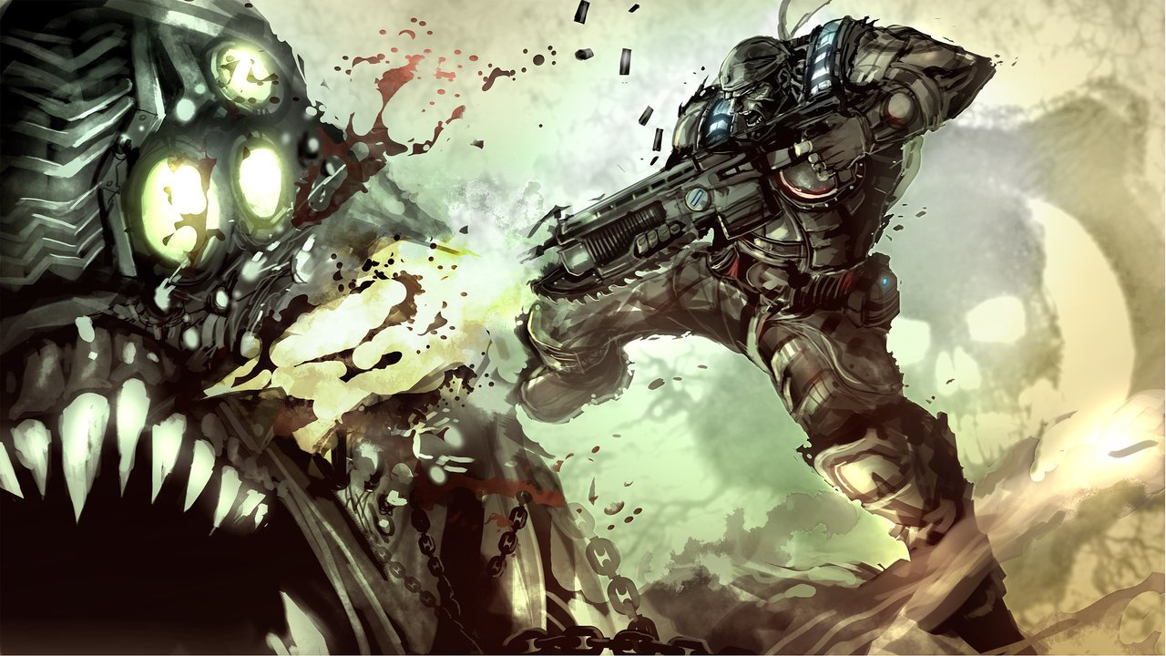 A Fantastic Gears Of War 3 Art Contest Gallery