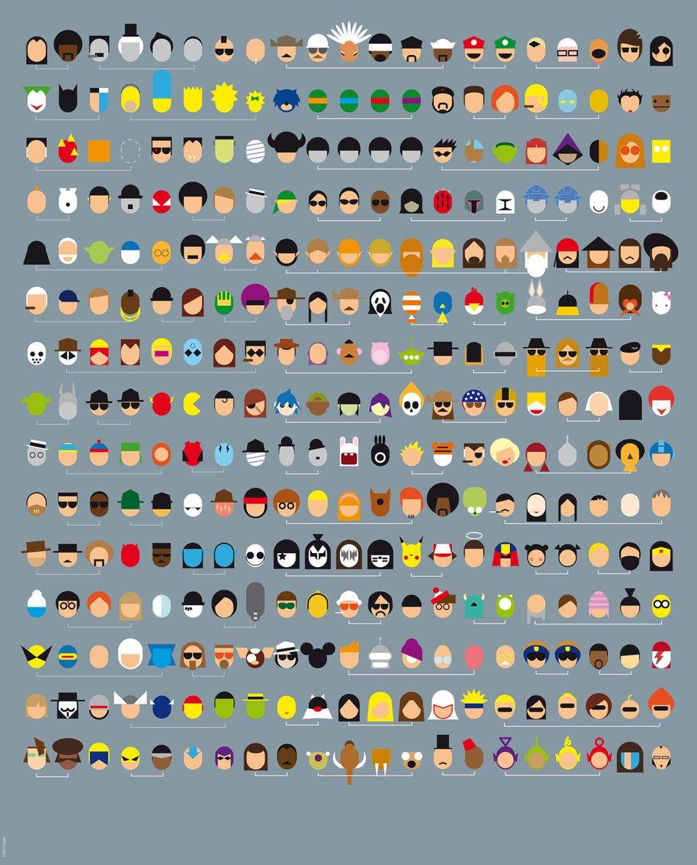 Pop Culture: Name The Pop Culture Icons