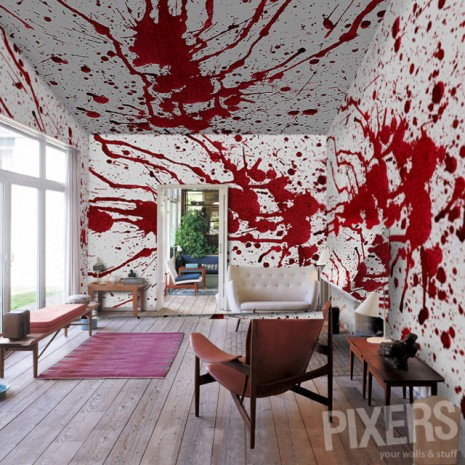 How To Wallpaper Your House Like Dexter