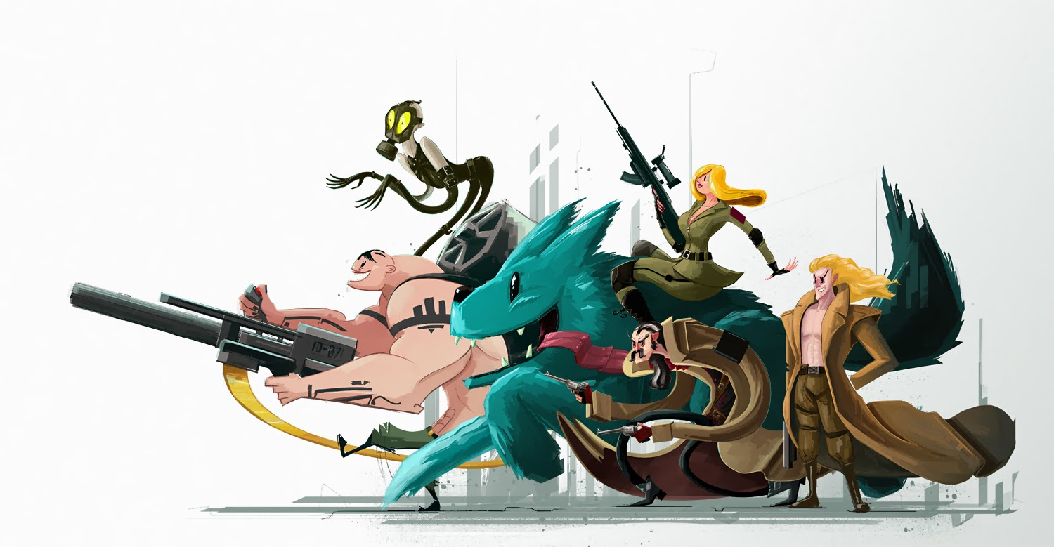 Rob Chandler's Wonky Metal Gear Solid Art