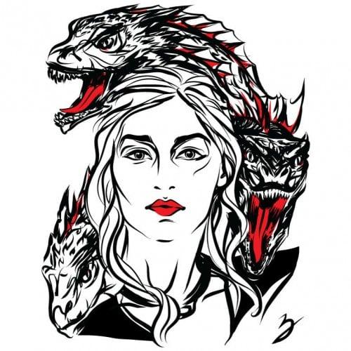 More Amazing Game Of Thrones Line Art