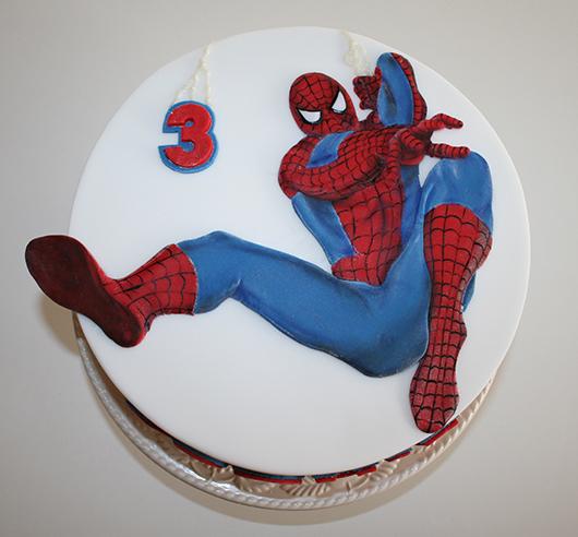 Image Result For Spiderman Childrens Birthday Cake