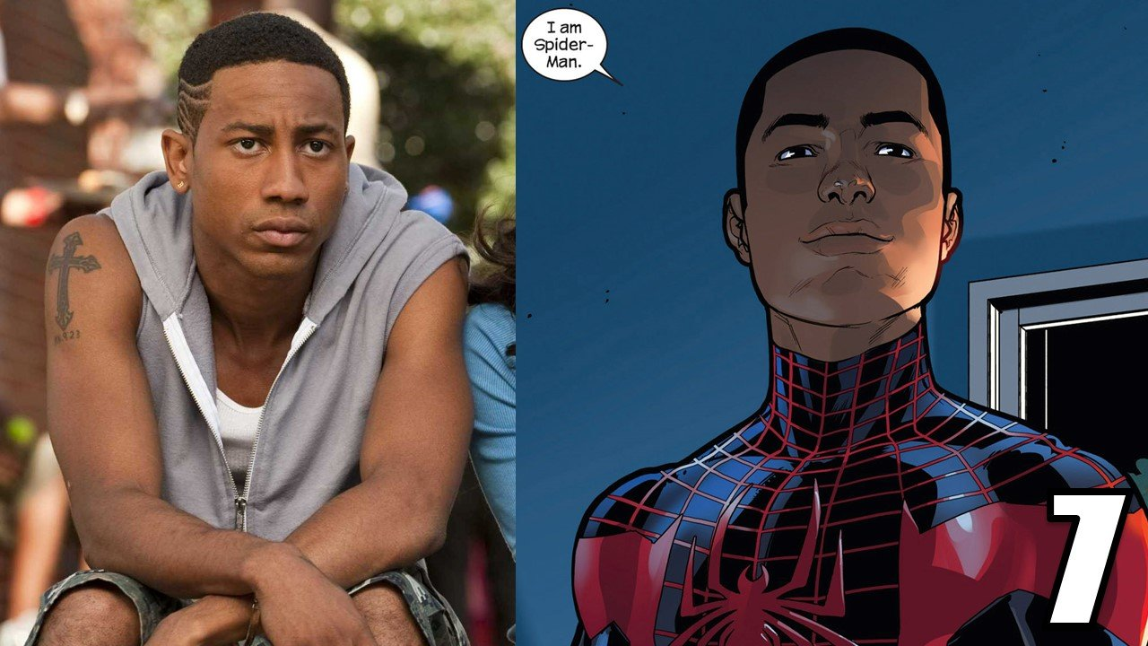 the top 10 actors who should play miles morales in spider-man