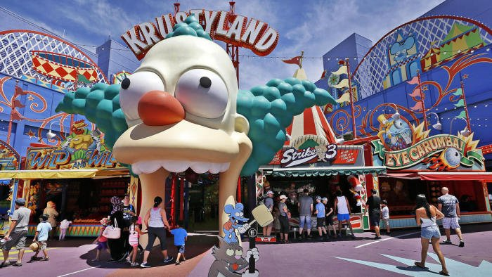 Universal Studios Recreates The Simpsons Hometown Of