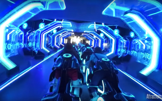 Shanghai Disneyland S Tron Roller Coaster Looks Pretty Intense