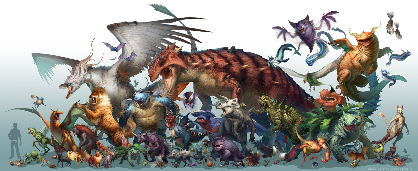 A Gallery Of Realistic Jurassic Pokemon By RJ Palmer